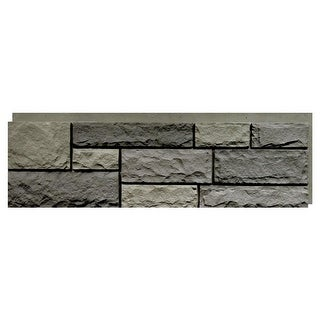 Link to NextStone™ Polyurethane Faux Stone Random Rock Panel - Mountain Shadow Similar Items in Wall Coverings