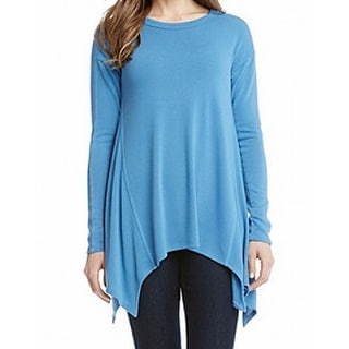 Annalee Hope Aug Sharkbite Hem Scoopnk Sweater Free Shipping On Orders Over 45 Overstock