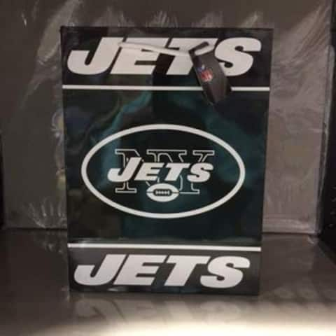 New York Jets Gift Bag Medium - 13x10x5.5 inches
