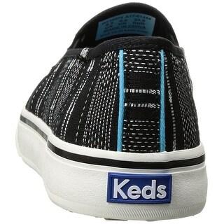 Keds Women's Double Decker Baja Stripe Fashion Sneaker