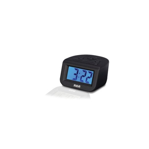 GE/RCA RCARCD10B RCD10 High Quality Alarm Clock with 1- Inch LCD