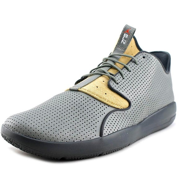Jordan Eclipse LTR Men Round Toe Leather Gray Sneakers