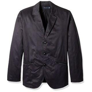 Nautica NEW Blue Mens Size Large L Three Button Notch Collar Sport Coat