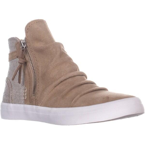 Shop Sperry Top Crest Sider SneakersTan High Zone Waterproof CxdBEQrWoe