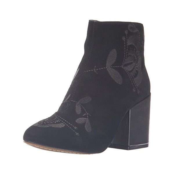French Connection Womens Dilyla Ankle Boots Jacquard