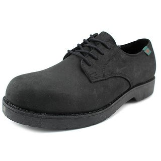 School Issue Semester Youth Round Toe Leather Black Oxford