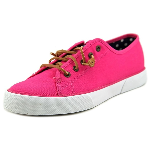 Sperry Top Sider Pier View Canvas Women Canvas Pink Fashion Sneakers
