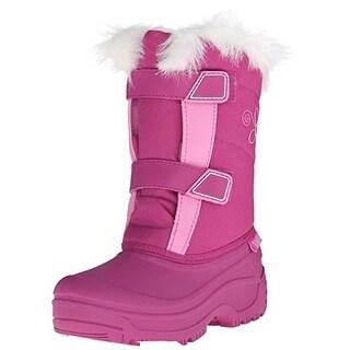 Tundra Boots Girls Hudson Fur Trim Winter Boots - 2