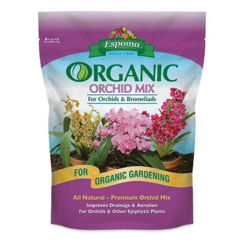 Espoma OR4 Organic Orchid Mix, 4 Quart