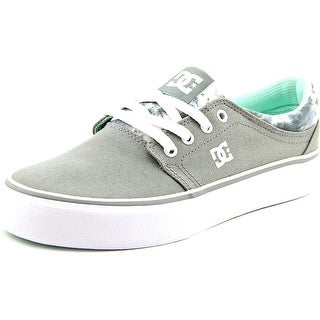 DC Shoes Trase TX SE Round Toe Canvas Skate Shoe