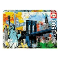 Urban Liberty 1500 Piece Puzzle, Contemporary Art by John N. Hansen Co.
