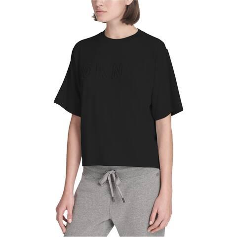 Dkny Womens Workout Tee Embellished T-Shirt