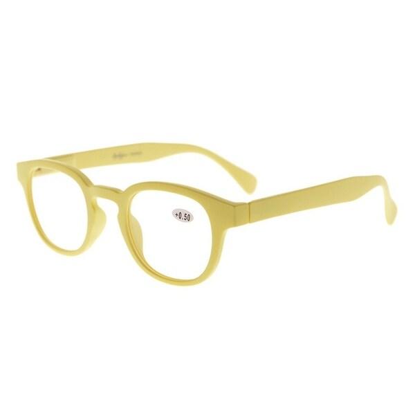 Eyekepper Stain Rainbow Reading Glasses (Yellow, +4.00)