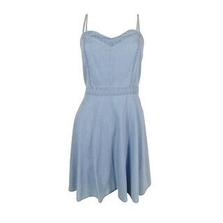 American Rag Women's Sleeveless Denim Dress