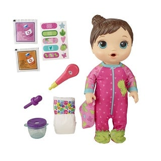 Link to Baby Alive Mix My Medicine Baby Doll, Dinosaur Pajamas, Drinks And Wets, Doctor Accessories, Toy For Kids Ages 3 And Up Similar Items in Dolls & Dollhouses