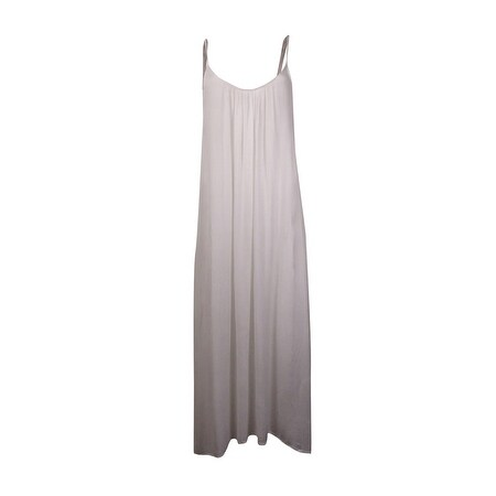 76c35c6d3a Shop Raviya Women's Solid Maxi Dress Cover (L, White) - White - L - Free  Shipping On Orders Over $45 - Overstock - 21464896