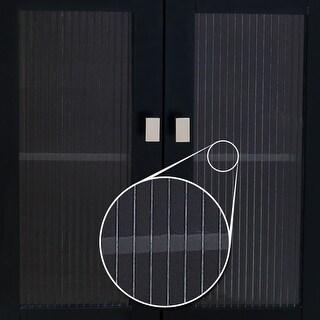 Elements VGLASS-02 Replacement Glass Door Panel for VAN063 Vanity Cabinet - N/A