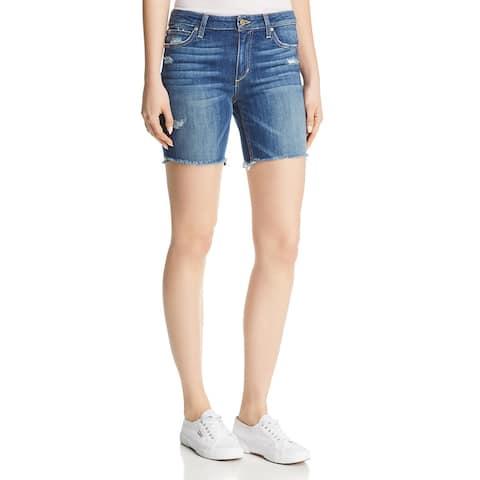 Joe's Jeans Womens Finn Bermuda Shorts Denim Karinne Wash