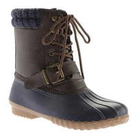 Portland Boot Company Women's Duck Duck Deluxe Boot Navy