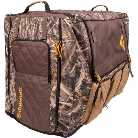 Browning p290199 browning large insulated crate cover max5/dull gold w/storag<