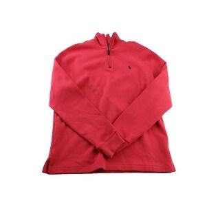 Polo Ralph Lauren Watermelon Big And Tall Quarter-Zip Sweatshirt S