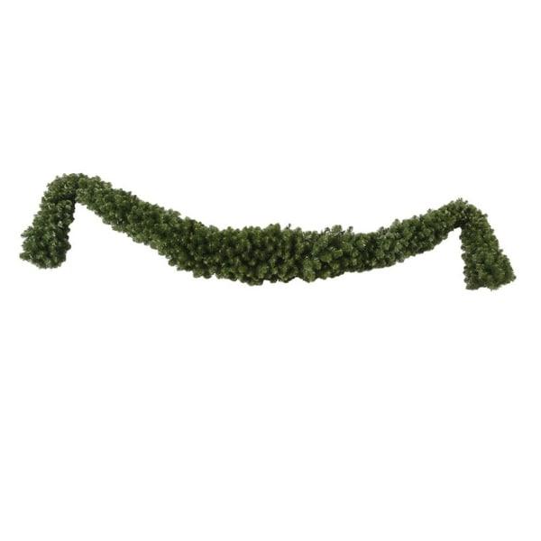"9' x 15"" Grand Teton Artificial Christmas Swag Garland - Unlit - green"