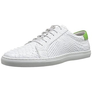 Zanzara Mens Riff Leather Snake Skin Fashion Sneakers - 11.5 medium (d)