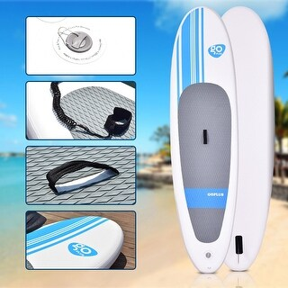 Link to Goplus 10' Inflatable Stand Up Paddle Board SUP w/ Adjustable Paddle Similar Items in Boats & Kayaks