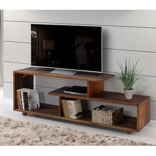 Link to Asymmetrical 60-inch Solid Wood TV Stand Console Similar Items in As Is