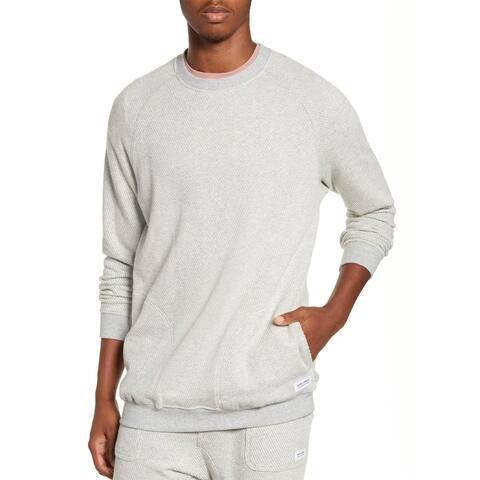 Banks Journal Mens Forum Fleece Crewneck Sweater X-Large Bone