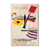 Andrea Cristoforo Columno (Ciuti) Vintage Ad (Acrylic Wall Clock) - acrylic wall clock