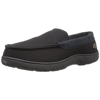 Dickies Mens Loafer Slippers Canvas Memory Foam