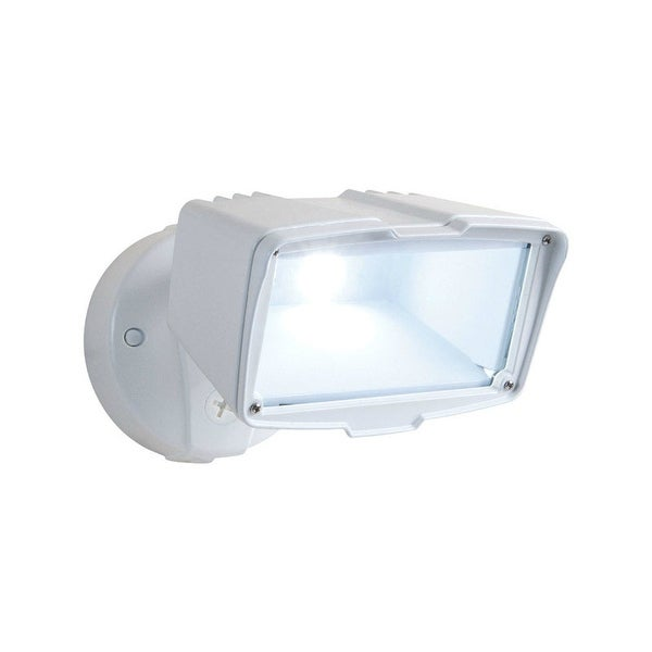 dusk to dawn outdoor lights camera allpro fsl2850lw led dusk to dawn outdoor floodlight white shop