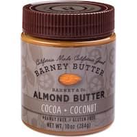 Barney Butter - Cocoa + Coconut Almond Butter ( 6 - 10 oz jars)