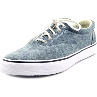 Sperry Top Sider Stripper Round Toe Canvas Sneakers