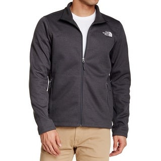 The North Face NEW Gray Mens Size Large L Krestwood Full Zip Sweater