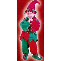 6-Piece Toddler's Christmas Elf Costume Set - Size 24M - 2T