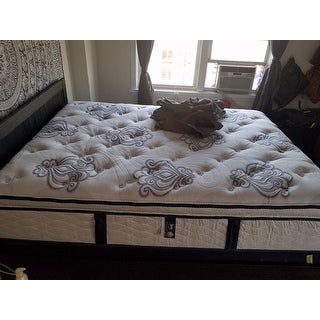 Serta Perfect Sleeper Elite Infuse Euro Top Queen-size Mattress and Box Spring Set