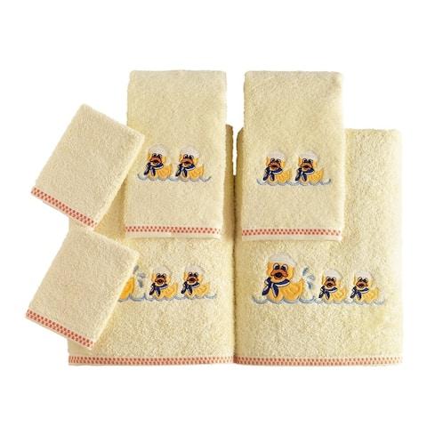 Lucia Minelli Kid's Duck Bath Towel Set of 6