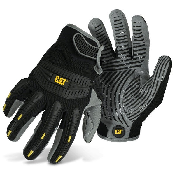 Cat CAT012218L Men's Mechanics Style Glove, Large