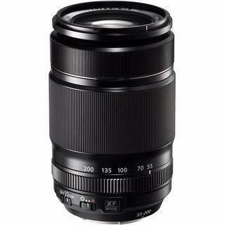 Fujifilm XF 55-200mm f/3.5-4.8 R LM OIS Lens - Black|https://ak1.ostkcdn.com/images/products/is/images/direct/b3fb0a667b503a105ae9f3c3fe27c4495a66c920/Fujifilm-XF-55-200mm-f-3.5-4.8-R-LM-OIS-Lens.jpg?impolicy=medium