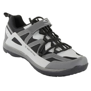 Serfas Women's Trax Casual Mountain Bicycle/Spinning Shoes - SWT-150GB - lt gray/black