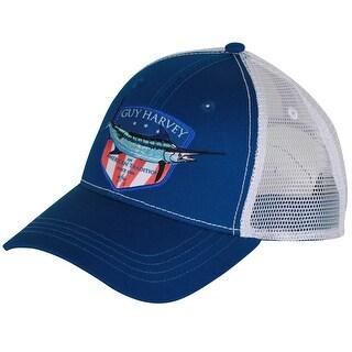 Guy Harvey Unisex-Adult Glory Ball Cap One Size Navy