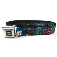 Batman Comicbook Seatbelt Belt-Holds Pants Up