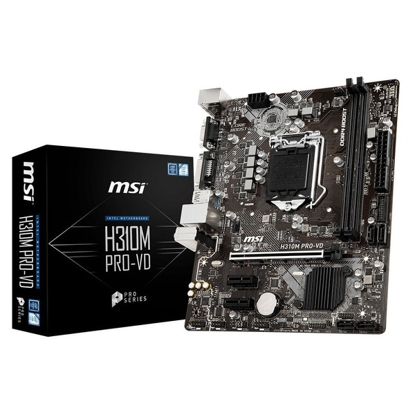 Msi - Components - H310mprovd