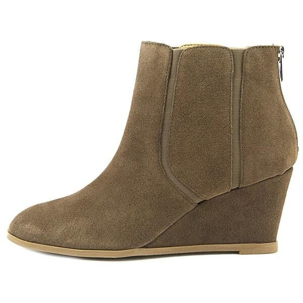 Alfani Womens Calistah Leather Closed Toe Ankle Fashion Boots