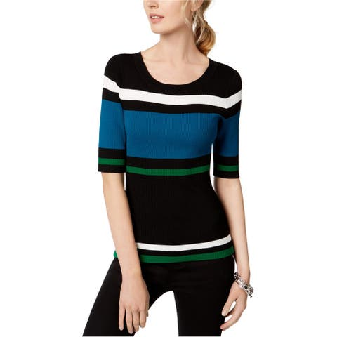 I-N-C Womens Stripes Pullover Sweater, Multicoloured, Small