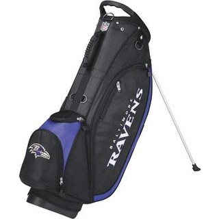 Wilson Nfl Carry Golf Bag, Baltimore Ravens