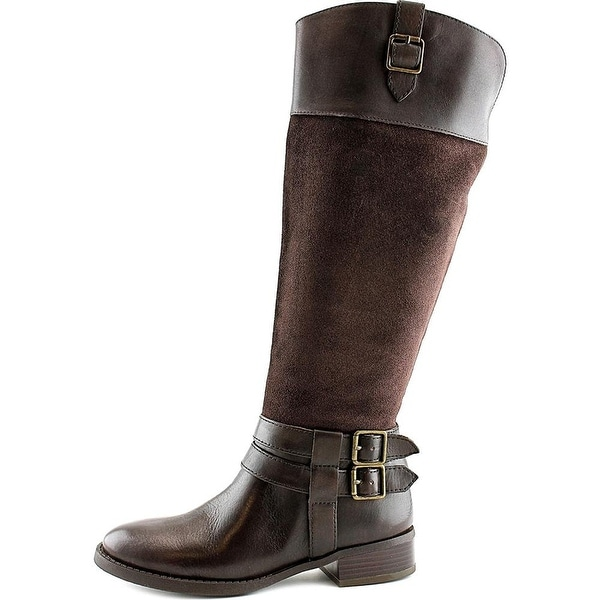 INC International Concepts Fahnee Women Brown Knee High Boot - 8