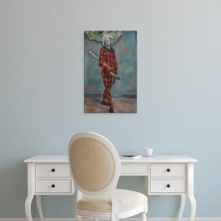 Easy Art Prints 's 'Harlequin, 1888' Premium Canvas Art
